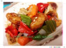 ベジタリアン酢豚